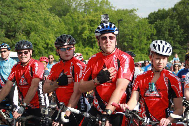 """Saratoga Tour de Cure """"Red Riders"""" go the distance to raise funds to help prevent and cure diabetes."""