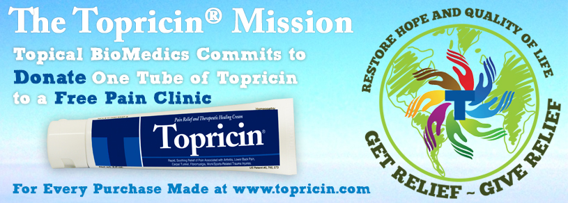 The Topricin Mission